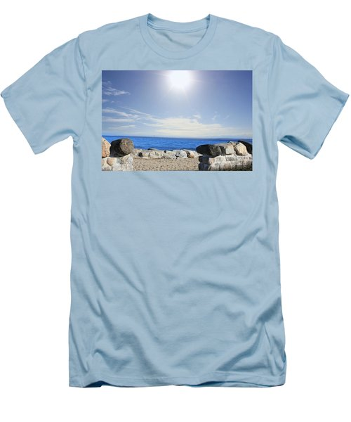 Beauty In The Distance Men's T-Shirt (Athletic Fit)