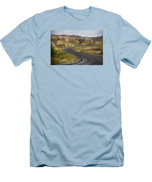 Men's T-Shirt (Slim Fit) featuring the photograph Beauty Of The Badlands South Dakota by John Hix