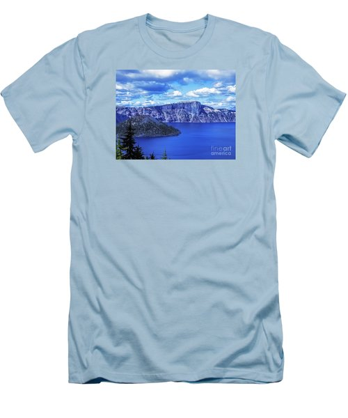Beauty Skin Deep Men's T-Shirt (Slim Fit) by Nancy Marie Ricketts