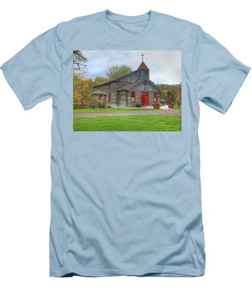 Bedford Village Church Men's T-Shirt (Athletic Fit)