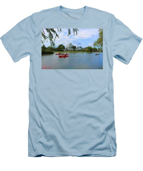 Belle Isle Conservatory Men's T-Shirt (Athletic Fit)