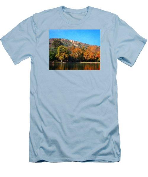 Below Puma Ridge Men's T-Shirt (Slim Fit) by Timothy Bulone