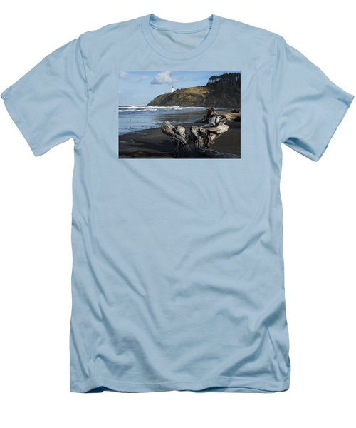 Benson Beach And North Head Men's T-Shirt (Athletic Fit)