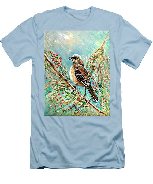 Berry Picking Time Men's T-Shirt (Athletic Fit)