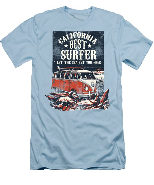 Best Surfer Men's T-Shirt (Athletic Fit)