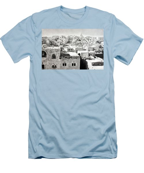 Bethlehem Old Town Men's T-Shirt (Athletic Fit)