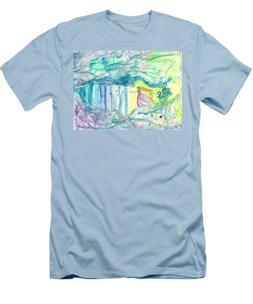 Bewitched Men's T-Shirt (Slim Fit) by Veronica Rickard