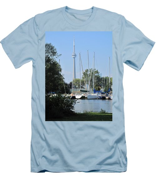 Beyond The Trees  Men's T-Shirt (Athletic Fit)