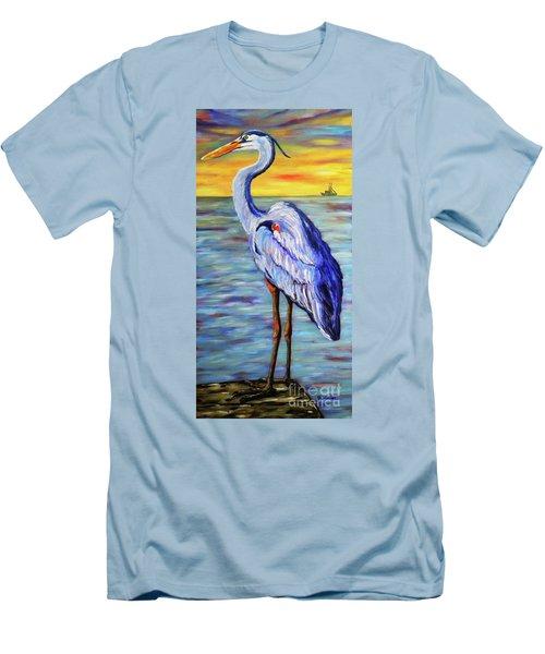Big Blue Men's T-Shirt (Athletic Fit)