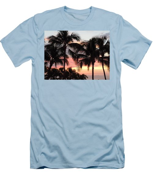 Big Island Sunset 1 Men's T-Shirt (Athletic Fit)