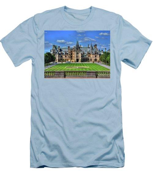 Biltmore Mansion Estate Asheville North Carolina  Men's T-Shirt (Athletic Fit)