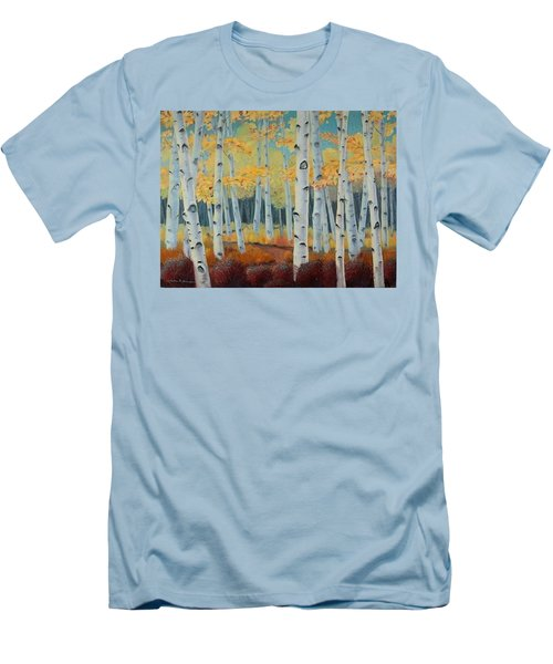Birchwood Forest Men's T-Shirt (Athletic Fit)