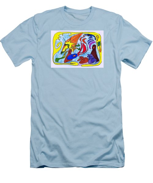 Birth Narrative Men's T-Shirt (Athletic Fit)