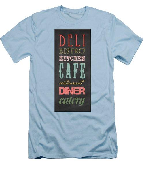 Bistro Cafe Sign Men's T-Shirt (Athletic Fit)