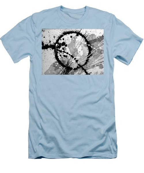 Black And White Five Men's T-Shirt (Slim Fit) by Tracy Bonin