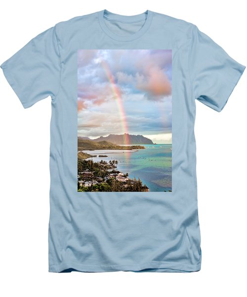 Black Friday Rainbow Men's T-Shirt (Athletic Fit)