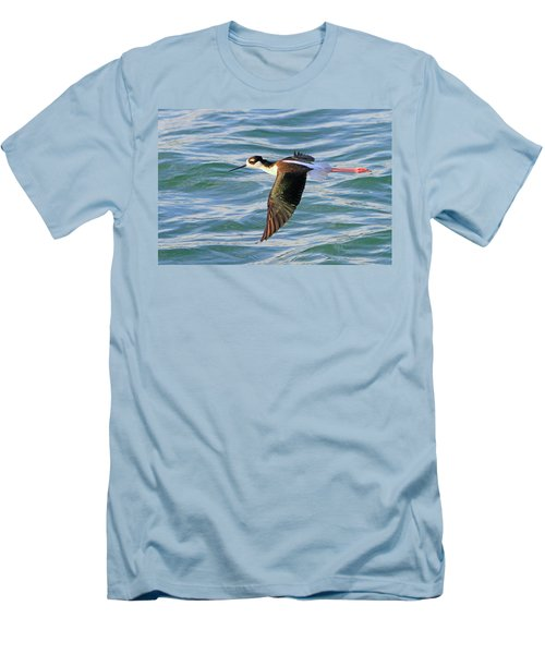 Black-necked Stilt 6 Men's T-Shirt (Athletic Fit)