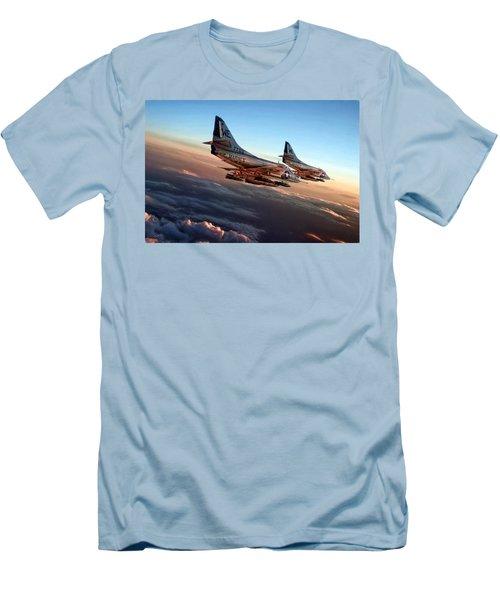Black Sheep Skyhawks Men's T-Shirt (Athletic Fit)