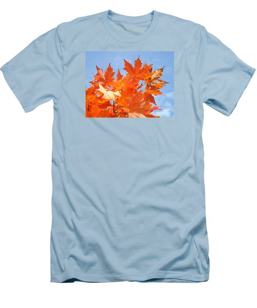 Blazing Maple Men's T-Shirt (Athletic Fit)