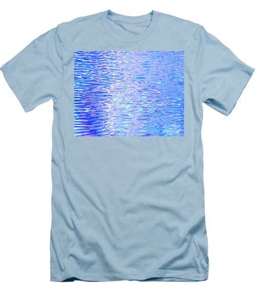 Blissful Blue Ocean Men's T-Shirt (Athletic Fit)