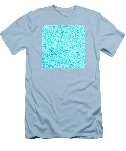 Bllue On Blue Men's T-Shirt (Athletic Fit)