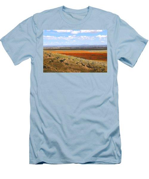 Blooming Season In Antelope Valley Men's T-Shirt (Athletic Fit)