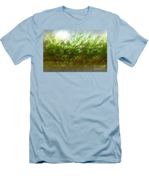 Men's T-Shirt (Slim Fit) featuring the photograph Blowing In The Wind by John Krakora