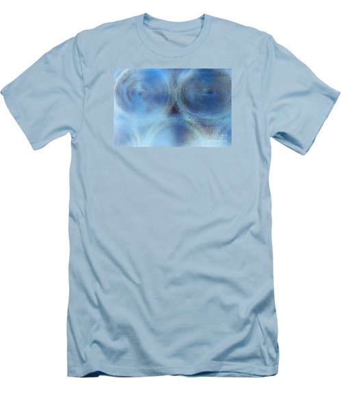 Blue Alien Men's T-Shirt (Athletic Fit)