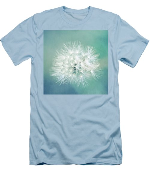 Men's T-Shirt (Slim Fit) featuring the photograph Blue Awakening by Trish Mistric