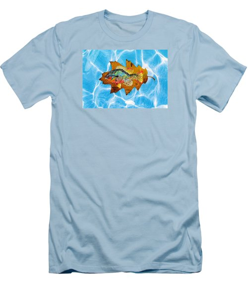 Blue Gill Men's T-Shirt (Slim Fit) by Ralph Root