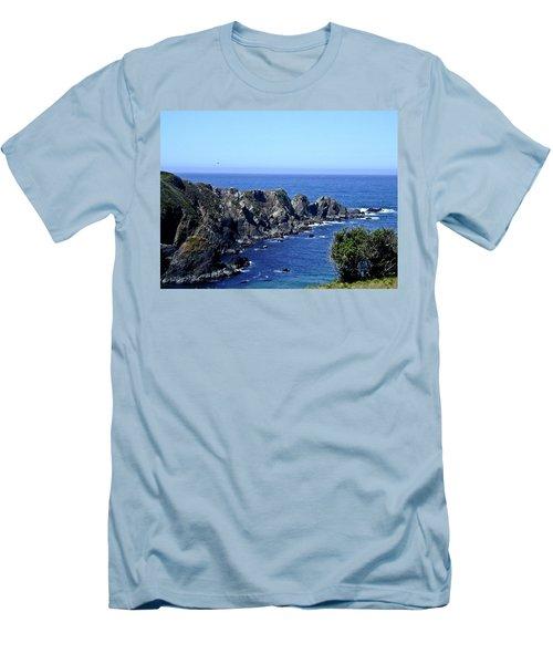 Blue Pacific Men's T-Shirt (Athletic Fit)