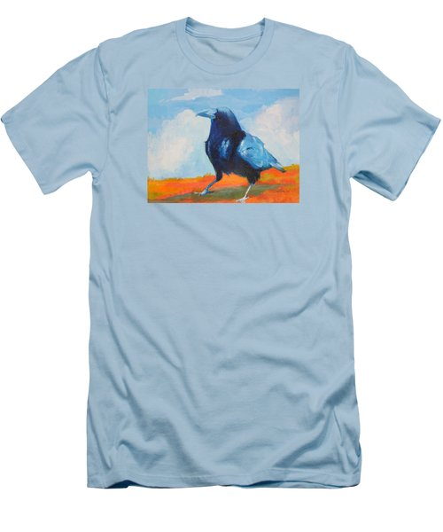 Blue Raven Men's T-Shirt (Athletic Fit)