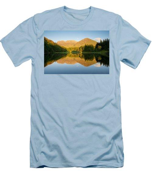 Blue Skies At Torren Lochan Men's T-Shirt (Athletic Fit)