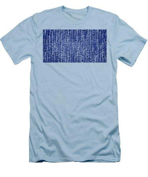 Blue Squared Code Men's T-Shirt (Athletic Fit)