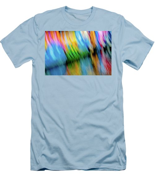 Blurred #5 Men's T-Shirt (Athletic Fit)