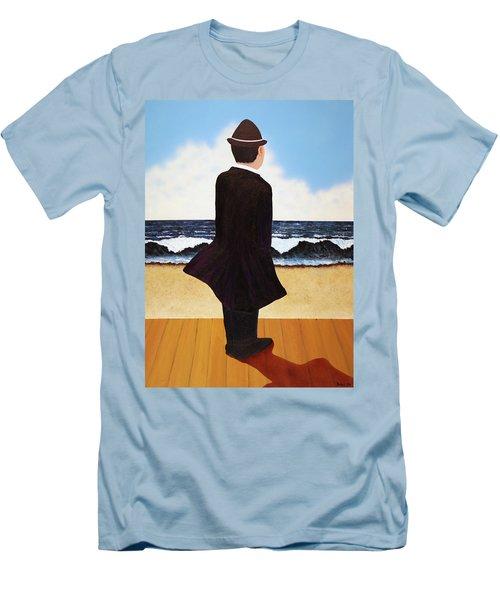 Boardwalk Man Men's T-Shirt (Slim Fit)