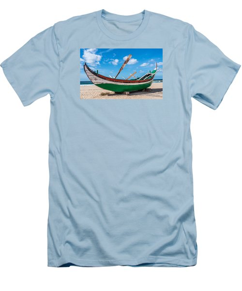 Boat Ashore Men's T-Shirt (Athletic Fit)