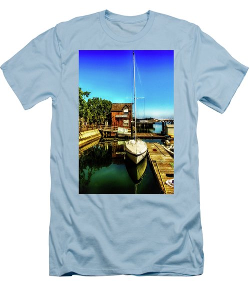 Boat Landing P O C Men's T-Shirt (Athletic Fit)