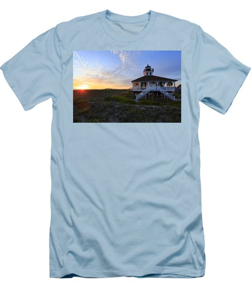 Boca Grande Lighthouse, Gasparilla Island, Florida, U S A Men's T-Shirt (Athletic Fit)