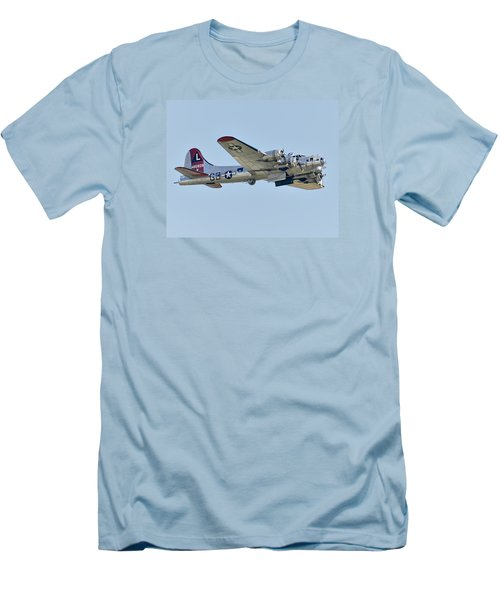 Boeing B-17g Flying Fortress Men's T-Shirt (Slim Fit) by Alan Toepfer