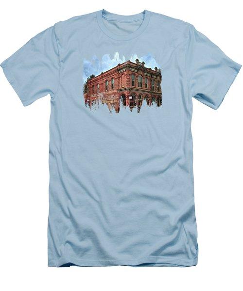 Boomtown Saloon Jacksonville Oregon Men's T-Shirt (Slim Fit) by Thom Zehrfeld