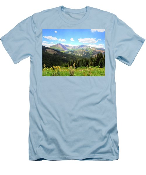 Boreas Pass Colorado Men's T-Shirt (Athletic Fit)