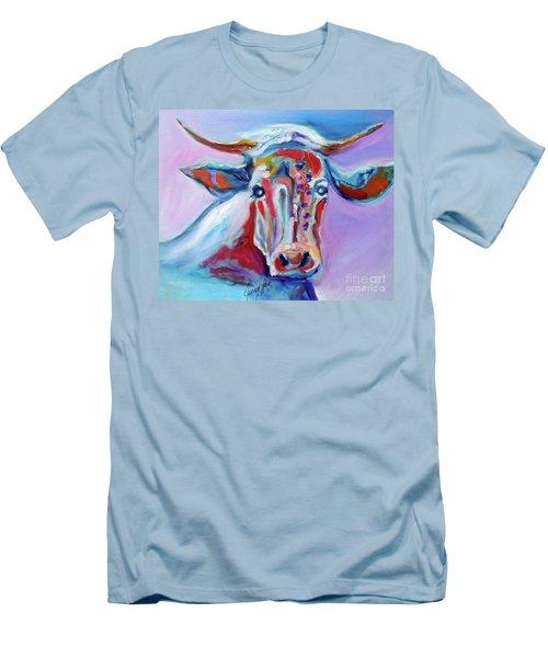 Blue Elsie Men's T-Shirt (Athletic Fit)