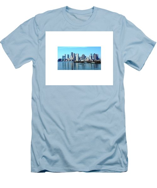 Boston Reflected Men's T-Shirt (Athletic Fit)