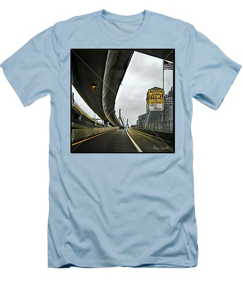 Boston Sand And Gravel  Men's T-Shirt (Athletic Fit)
