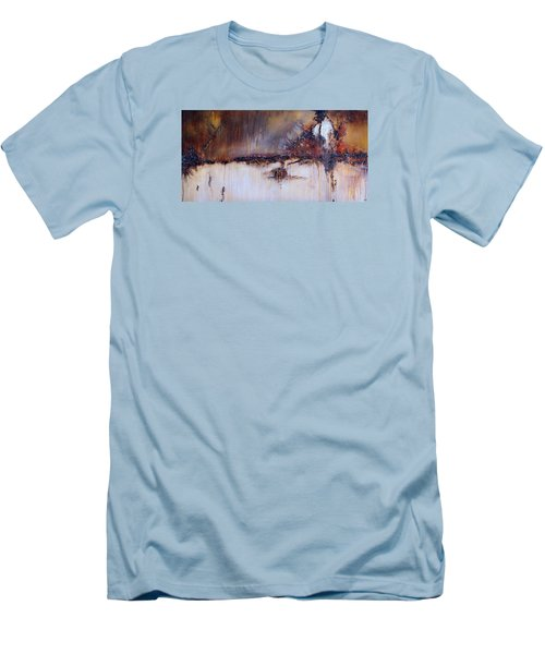 Boundary Waters Men's T-Shirt (Slim Fit) by Theresa Marie Johnson