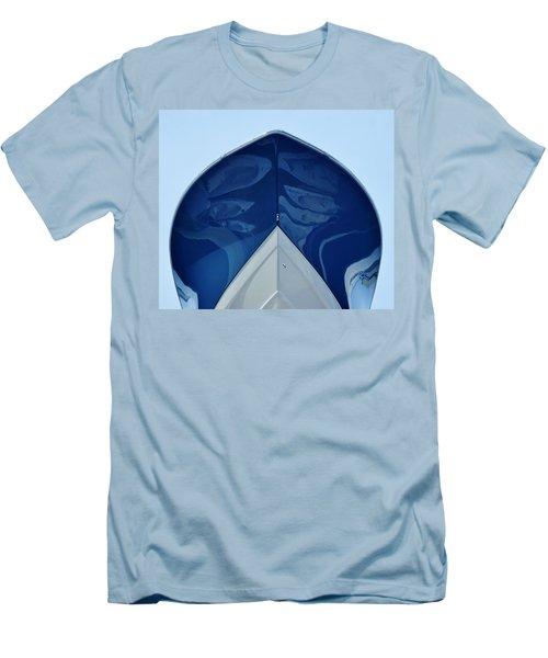 bow, deep V Men's T-Shirt (Slim Fit) by John Wartman