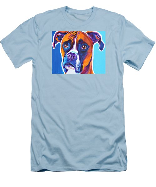 Boxer - Rex Men's T-Shirt (Athletic Fit)