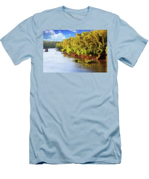 Brazos River Men's T-Shirt (Athletic Fit)