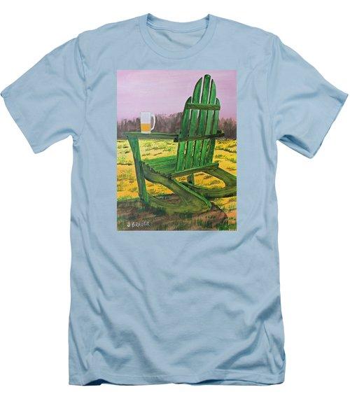Break Time Men's T-Shirt (Slim Fit) by Jack G  Brauer